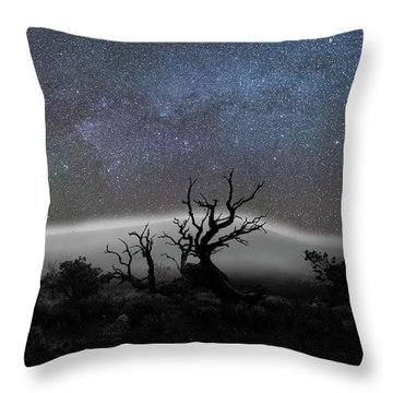 Kumulipo And The Sky Throw Pillow