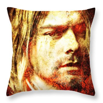 Kurt Throw Pillow by J- J- Espinoza
