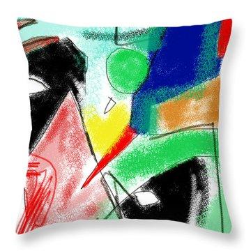 Kurtz's Domain Throw Pillow