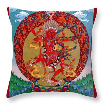 Kurukula Throw Pillow