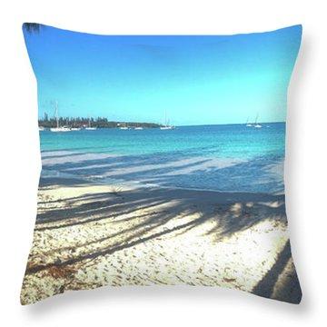 Kuto Bay Morning Throw Pillow
