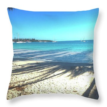 Kuto Bay Morning Throw Pillow