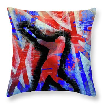 Kyle Schwarber - #letsgo Throw Pillow