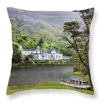 Kylemore Castle Throw Pillow