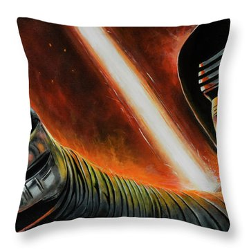 Kylo Ren Throw Pillow