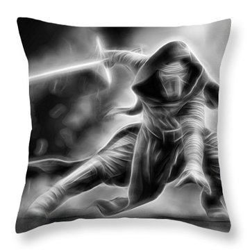 Kylo Ren Nothing Will Stand In Our Way Throw Pillow