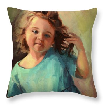 Kymberlynn Throw Pillow