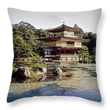 Kyoto: Zen Buddhist Temple Throw Pillow