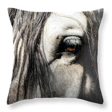 Kyra's Soul Throw Pillow by Lynn Palmer