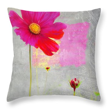 L Elancee - J176a Throw Pillow