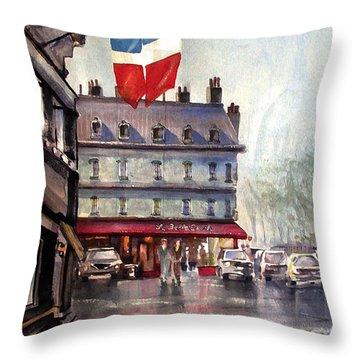 La Belle Epoch Throw Pillow