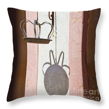 Throw Pillow featuring the photograph The Crown by Chris Dutton