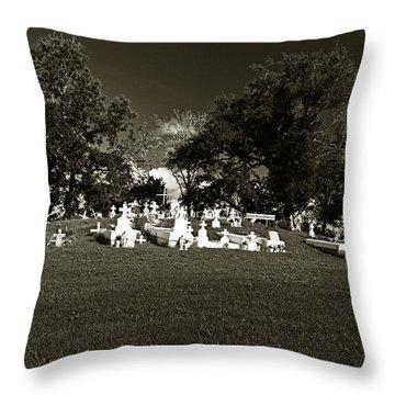 La Butte Throw Pillow by Scott Pellegrin
