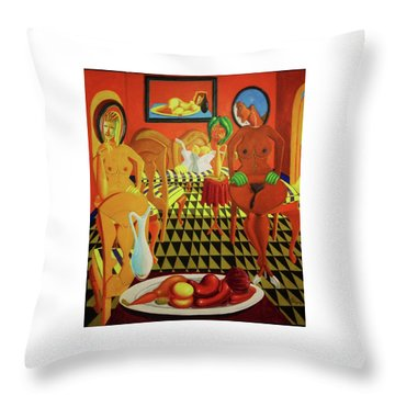 La Casa Celestina Psychopathology Of The Brown Paper Bag Criterion Throw Pillow