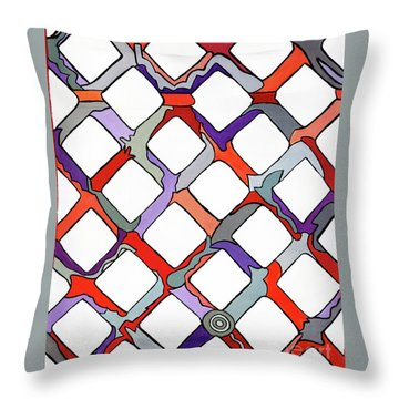 La Day Throw Pillow