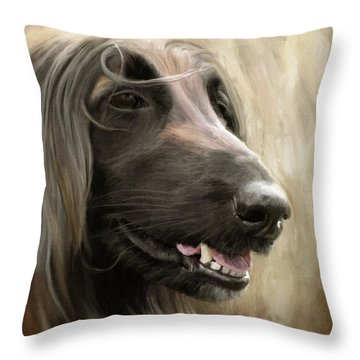 La Diva Throw Pillow