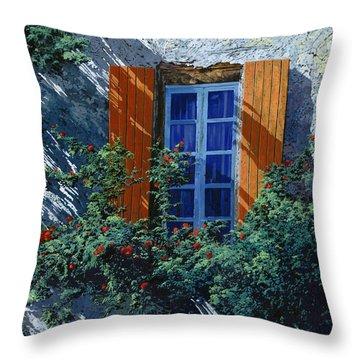 La Finestra E Le Ombre Throw Pillow by Guido Borelli