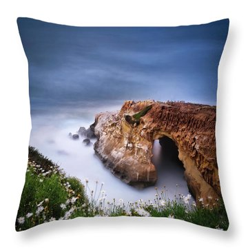 La Jolla Cove Throw Pillow