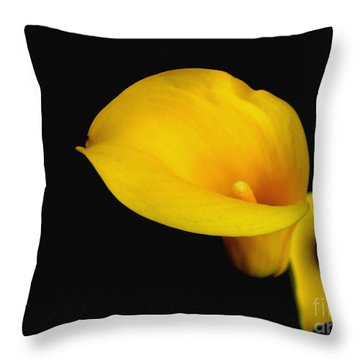 la Lilly Throw Pillow by Debra Crank