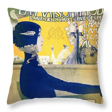 La Maison Moderne Throw Pillow by Manuel Orazi