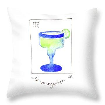 La Margarita Throw Pillow