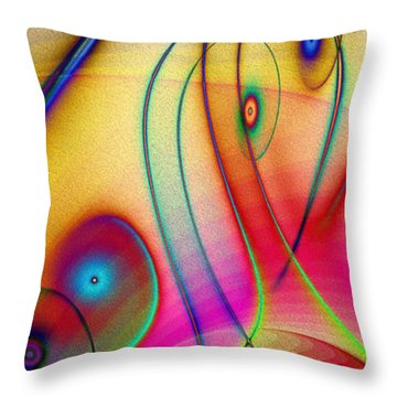La Musica Llena El Aire Throw Pillow