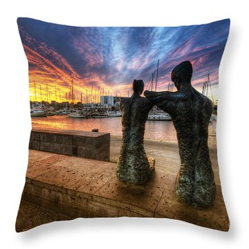 La Parella Throw Pillow