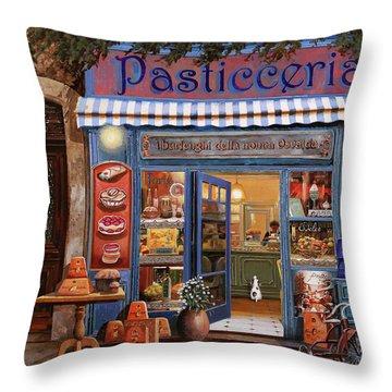 La Pasticceria Throw Pillow