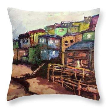 La Perla De Puerto Rico Throw Pillow