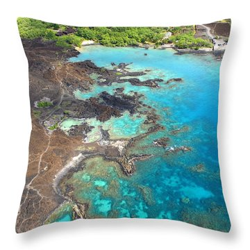 La Perouse Bay Throw Pillow by Ron Dahlquist - Printscapes