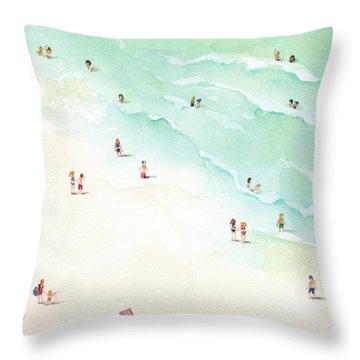 La Playa Throw Pillow