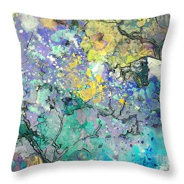 La Provence 08 Throw Pillow by Miki De Goodaboom