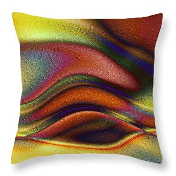 La Puesta Del Sol Throw Pillow