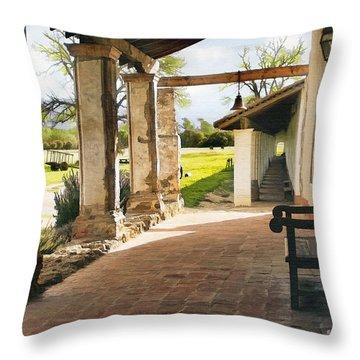 La Purisima Long View Throw Pillow