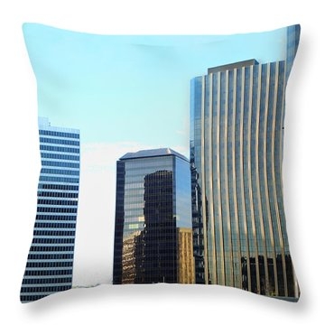 La Reflective Throw Pillow