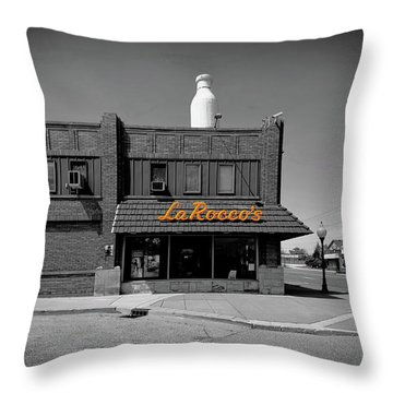 La Roccos Throw Pillow
