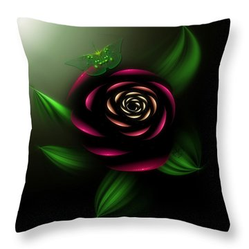 La Rosa Throw Pillow