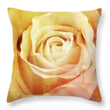 La Rose Throw Pillow