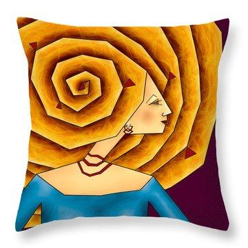 La Ruche Throw Pillow