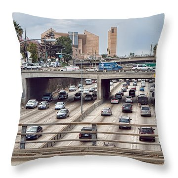 La Rush Throw Pillow