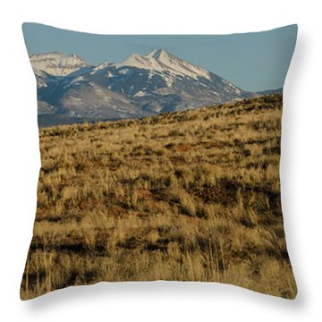 La Sals Throw Pillow