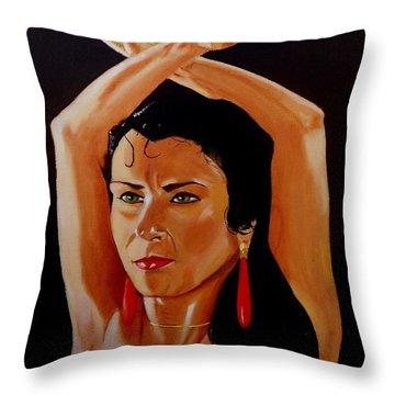 La Tati Throw Pillow