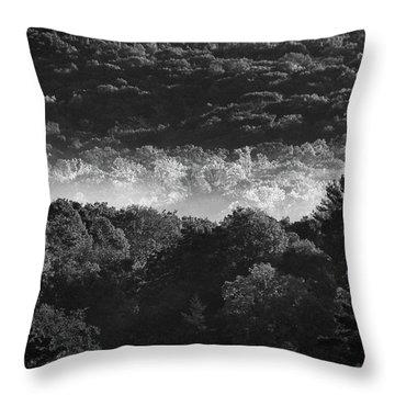 La Vallee Des Fees Throw Pillow