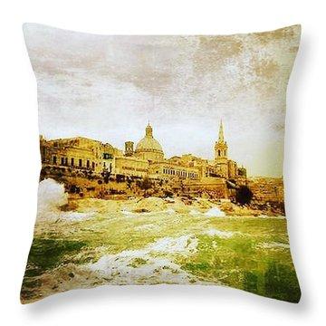 La Valletta Throw Pillow