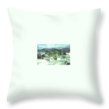 La Vela Throw Pillow