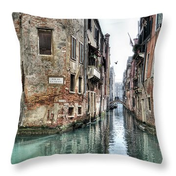 La Veste Venice Throw Pillow