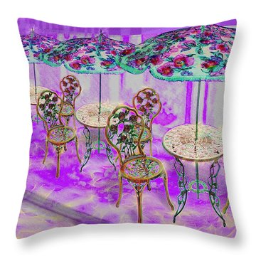 La Ville Lumiere Throw Pillow