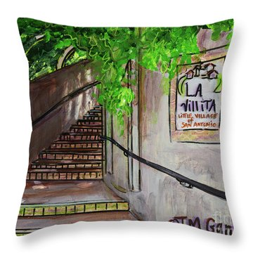 La Villita Throw Pillow