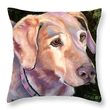 Lab One Of A Kind Throw Pillow