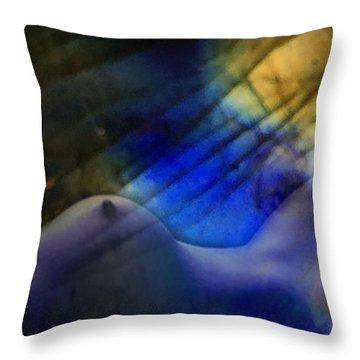 Labradorescent Dreams Throw Pillow